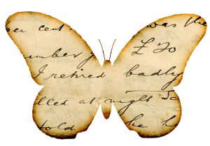free-butterfly-clipart-images-distressed-handwriting-overlay